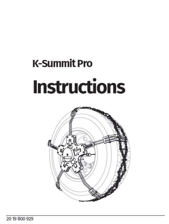 K-Summit Pro manuale