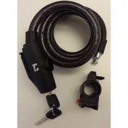 Antifurto a spirale Spiral Lock 15x1500mm